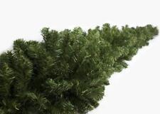 Festone Ghirlanda Natalizia con 360 rami Treccia di Natale molto folta 270 cm