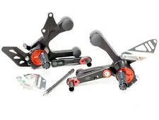 Gilles Tooling RCT RCT10GT Adjustable Rearsets Black/Red Yamaha MT-09 2014-on