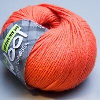 Lana Grossa Mc Wool Merino Mix 140  - 406 flamingo 50g Wolle (5.90 EUR pro 100 g