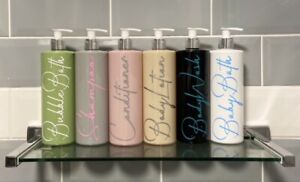 Mix & Match Mrs Hinch Inspire 500ml Pump Bottle Pink Grey Black Green White Nude