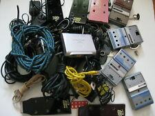 Lot of Junk Vintage Broken Pedals Guitar AC Adapters Parts Project
