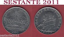 V34,  VATICANO GIOVANNI XXIII  100  LIRE CONCILIO  1962 ,  KM# 73  FDC / UNC