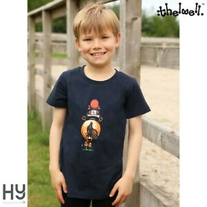 Thelwell Collection Children's Badge T-Shirt – Breathable cotton – Comfortable