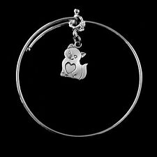 Cat bangle Happy cat low price bracelet  Kitten bracelet  Best gift