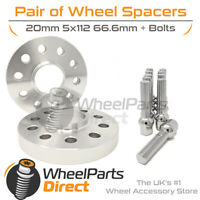 Wheel Spacers & Bolts 20mm for Mercedes CLS-Class W219 05-10 On Original Wheels