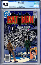 BATMAN #304 CGC 9.8 WHITE PAGES SPOOK APPEARANCE 1978