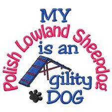My Polish Lowland Sheepdog is An Agility Dog Short-Sleeved Tee - Dc1768L