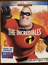 Disney The Incredibles Bluray Dvd Combo