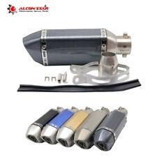 51mm Motorcycle Exhaust Muffler Pipe For GY6 YZR R6 CBR125 CB400 NINJA GSXR ER6N