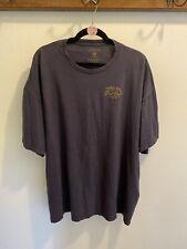 GH Bass & Co Men's Short Sleeves T Shirt Blue 2XL Out Door Logo