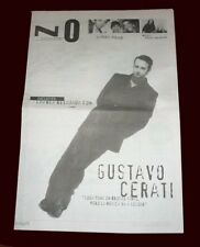 GUSTAVO CERATI - Goodbye to SODA STEREO - Pagina12 Supplement # 274