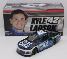 NASCAR 2018 KYLE LARSON #42 FIRST DATA COLOR CHROME 1/24 DIECAST CAR