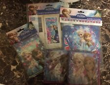 Frozen Invitation's 8ct, Frozen Banner, Party Door Poster, 2 Packs Napkins