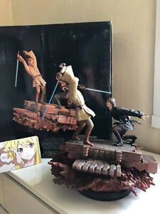 Sideshow Star Wars Diorama OBI-WAN VS ANAKIN 172/1250 RARE
