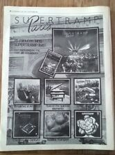 SUPERTRAMP 'Paris' Poster size Press ADVERT from OOR Dutch magazine 16x12 inches