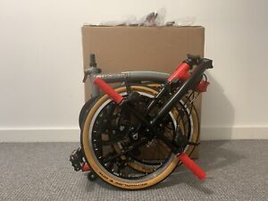 BROMPTON CHPT3 V3 S6E 6 SPEED  LIMITED EDITION FOLDING BIKE.