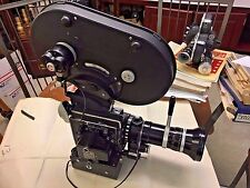 Bolex SBM 16mm Camera,16-100mm Switar Zoom, 400' Mag, Motor, Vol Regulator Clean