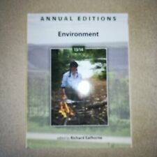 Annual Editions: Environment 13/14 by Eathorne, Richard , Paperback 2014