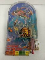 Vintage Hand Held Pinball Game Late 80s Mission to the Star Rare