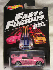 Hot Wheels SU MISURA HONDA S2000 ROSA Fast & Furious Real RIDER 1/1 FATTO