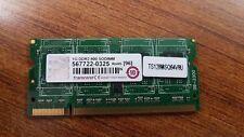 LOT OF 2 PCS. TRANSCEND  TS128MSQ64V8U RAM Memory Module, 1 GB, 800 MHz