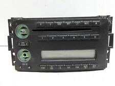05 06 07 Chevrolet Uplander AM FM CD radio receiver OEM missing knobs 15806261