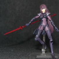 Fate Grand Order Lancer Scathach Figma 381 Anime Action Figure Figurine In Box