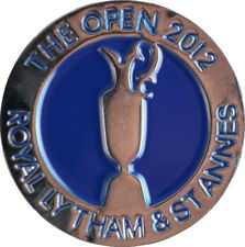 2012 OFFICIAL (Lytham & St Annes) BRITISH OPEN - Flat - GOLF BALL MARKER