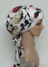 Women's head snood, silky tichel, full hair covering,satin bonnet for long hair