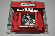 Dietrich Kittner-il rosso POMPIERE-tedesco 70er-DISCO VINILE LP
