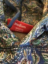 100% Authentic Rare Supreme Paisley Hoodie M / Box Logo PCL CDG Bape Kith
