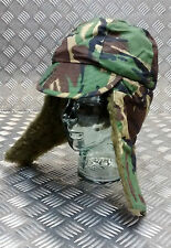 Genuine British ARMY Falklands DPM WOODLAND Camo Cold Weather Field Hat