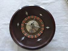 très ancien jeu de roulette en bakélite et métal fabrication G. CARLY FRANCE