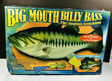 Big Mouth Billy Bass Sings Take Me to the River, Don't Worry Be Happy 1998 WORKS