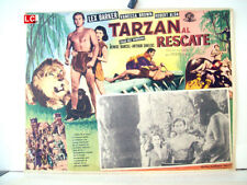 ¡ONLY AVAILABLE 24h.!/ TARZAN AND THE SLAVE GIRL/LEX BARKER/1950/OPTIONAL SET/54