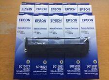 10 x Genuine Epson S015021 #7753 Ribbon Cartridges C13S015021 - VOSA MOT Bundle