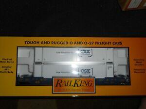 MTH RAILKING 30-4213A CSX INTERMODAL HUSKY STACK #620156 L/N BOX O SCALE