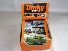 dinky TRADE SHOP COUNTER  DISPENSER & 23 No 8 CATALOGUES