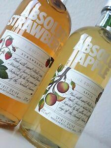 Absolut Vodka - JUICE  Apple & Strawberry / 2x500ml / 35% Vol. / Limited Edition