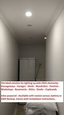 Skylight Round 300mm + Solar Panel + DIY Instructions No Shaft needed Best Value