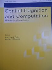 Spatial Cognition and Computation: An Interdisciplinary Journal new 2014 V.13/1