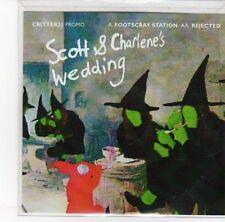 (DL923) Scott & Charlene's Wedding, Footscray Station / Rejected - 2012 DJ CD