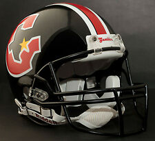 HOUSTON GAMBLERS USFL Riddell Pro Line FULL SIZE AUTHENTIC Football Helmet