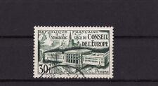 timbre France  conseil de l' Europe a Strasbourg     num: 923  oblitéré