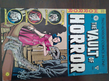 Vault of Horror no. 4 EC Gladstone '91 Reprint Ex.Cn Horror Tales From The Crypt