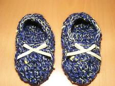 Baby-Schuhe aus Baumwollmischung mit Strick/Gehäkeltem für Mädchen