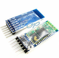 10PCS Wireless Serial 6 Pin Bluetooth RF Transceiver Module HC-05 RS232