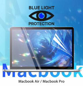 "Screen Protector with Blue Light protection for Macbook Pro Air 13"" film Cover"