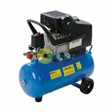 Air Compressor 2Hp Portable With Air-Cooled Single-Stage Pump 1500W 24Ltr