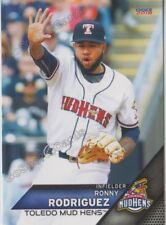2018 Toledo Mud Hens Ronny Rodriguez RC Rookie Detroit Tigers Minor